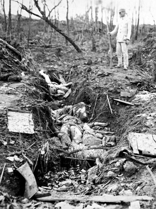中国の騰越の朝鮮人「慰安婦」の死体(1944)