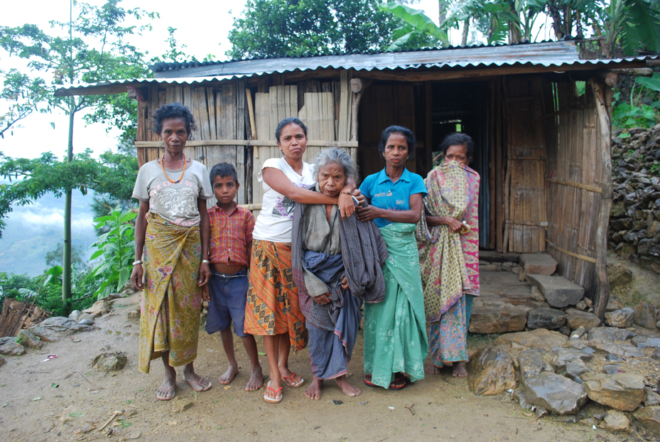 同じくオアト村の慰安所にいれられたマダレーナさん